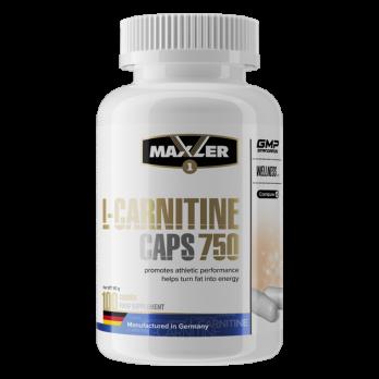 L-карнитин Maxler L-Carnitine caps 750 100 капс