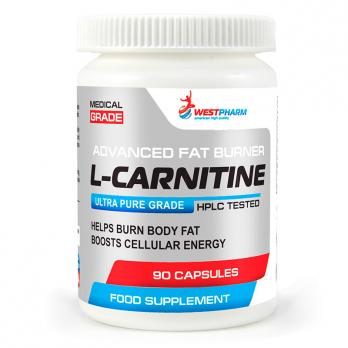 L-карнитин WestPharm L-carnitine 500 мг 90 капс