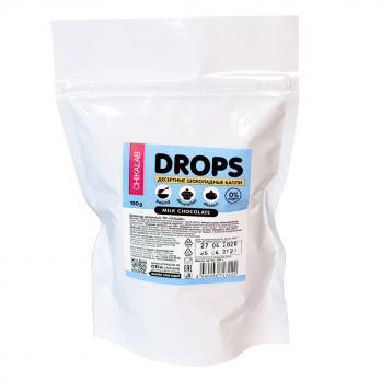 Шоколадные Дропсы (капли) Chikalab Drops, 150 гр