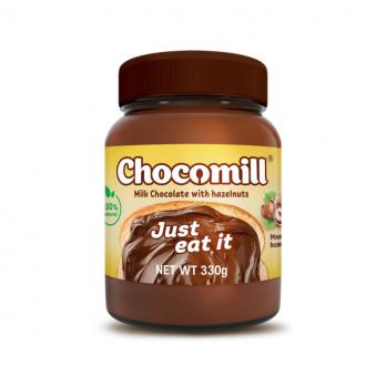 Шоколадная паста с лесными орехами Happy Nut Chocomill 330гр