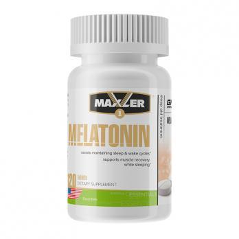Антиоксидант Maxler Melatonin / Мелатонин 120 таб по 3 мг