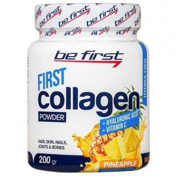 Коллаген Be First First collagen + Hyaluronic acid + vitamin C 200 гр