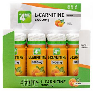 L-карнитин 4ME NUTRITION L-carnitine 3000 60 мл
