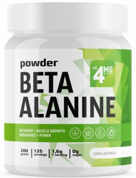 Аминокислота 4ME NUTRITION Бета-Аланин 200 гр