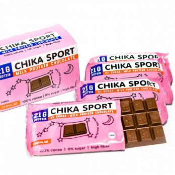 Шоколад молочный  CHIKALAB 100 гр