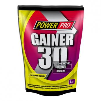 Гейнер PowerPRO GAINER 30 1000 гр