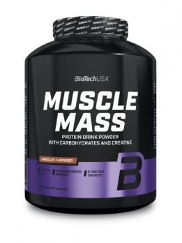 Гейнер BioTech USA Muscle Mass 2270 гр