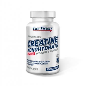 Креатин BE First Creatine monohydrate 120 капс