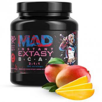 BCAA MAD instant EXTASY BCAA 2:1:1  500 гр
