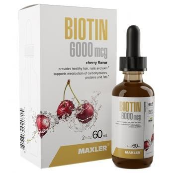 Витамины Maxler Biotin 6000 mcg 60 ml