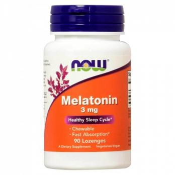 Антиоксидант NOW Melatonin 3 mg 180 табл (жев)