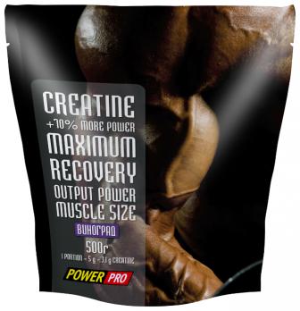 Креатин PowerPRO Creatine maximum recovery 500 гр (пакет)