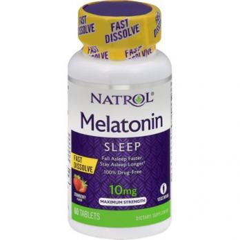 Антиоксидант Natrol Melatonin 10 mg 60 табл.