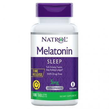 Антиоксидант Natrol Melatonin 5 mg 100 табл.