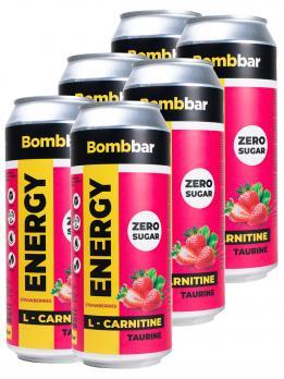 Напиток Bombbar L-CARNITINE energy 500 мл