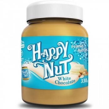 Арахисовая паста с белым шоколадом Happy Nut 330 гр