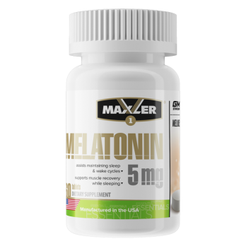 Антиоксидант Maxler Melatonin / Мелатонин 60 таб по 5 мг