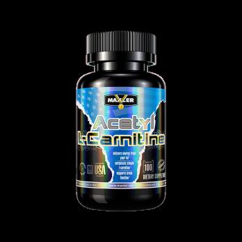 L-карнитин Maxler Acetyl L-Carnitine 100 капс