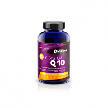 Антиоксидант GEON G-System + Q10 75 таб
