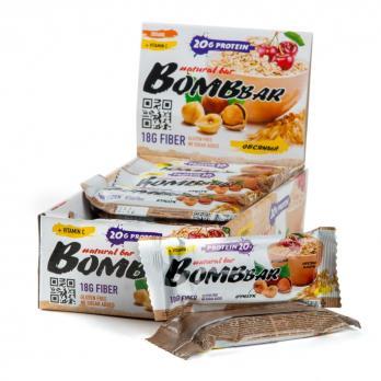 Батончик протеиновый BOMBBar 60гр