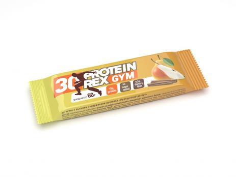 Батончик с высоким содержанием протеина 30% Gym ProteinRex 60 гр