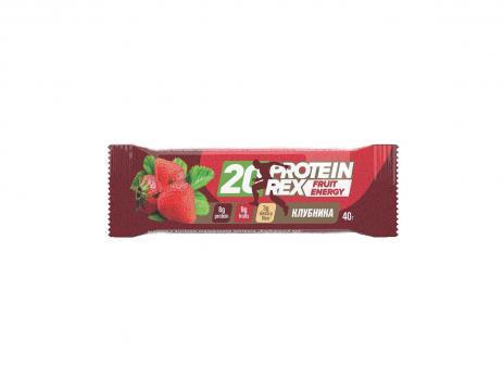 Батончик с высоким содержанием протеина 20%-22% FruitEnergy ProteinRex, 40 гр