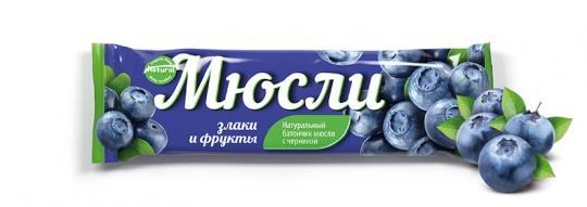 Батончик-мюсли Muesli Effort, 40 гр