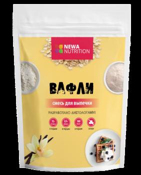 Смесь для выпечки - Вафли высокобелковые, Newa Nutrition 200 гр