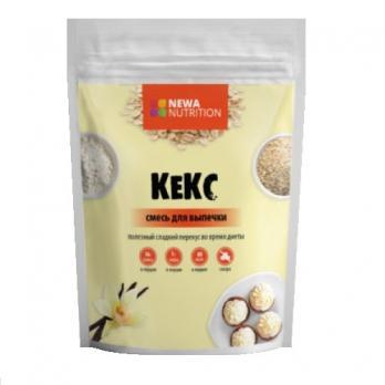 Смесь для выпечки - Кекс высокобелковый, Newa Nutrition, 200 гр