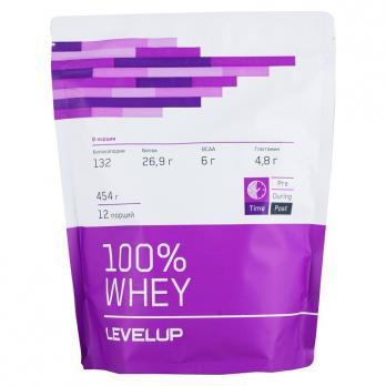 Протеин Level Up 100 % Whey 454 г