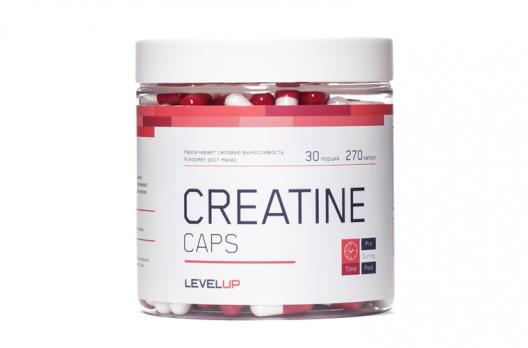 Креатин Level Up Creatine Caps 270 Caps