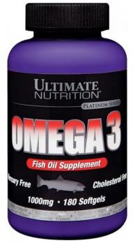 Витамины Ultimate Nutrition Omega 3 (1000 мг) 90 капс