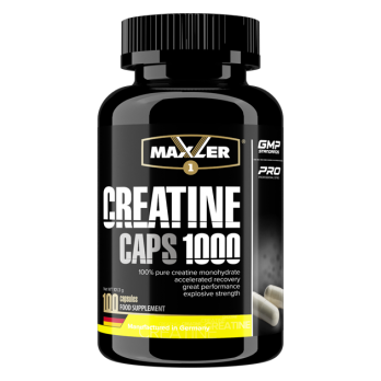 Креатин Maxler Creatine Caps 1000 100 капс