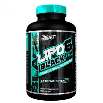 Жиросжигатель Nutrex Lipo-6 Black Hers 120 капс.