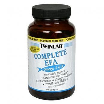 Витамины TWINLAB Complete Efa OMEGA  3-6-9   90 капс