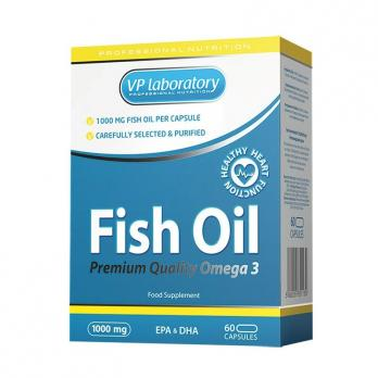 Витамины VPLAB Fish Oil 1000 мг / 60 капс