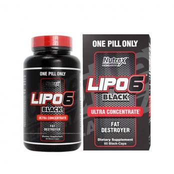 Жиросжигатель Nutrex Lipo-6 Black Ultra Concentrate 60 капс.