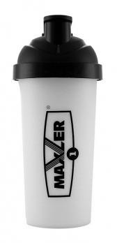 Шейкер Maxler Black 700 мл - Черный - Белый 1-C print