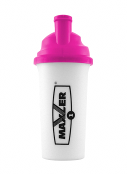 Шейкер Maxler Black 700 мл - Розовый - Белый 1-C print