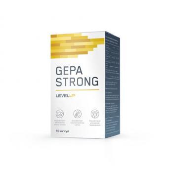Гепатопротектор LevelUP Gepa Strong 60 капс.