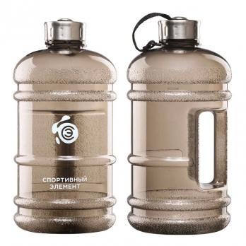 Бутылка Спортивный элемент, 2200 мл, Черный