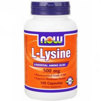 Аминокислота Now Foods L-lysine 100 таблеток