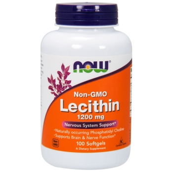 Антиоксидант NOW Lecithin 1200mg 100 таб
