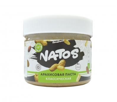 Арахисовая паста NATOS 250 гр
