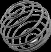 Металлический шарик для шейкера или бутылки