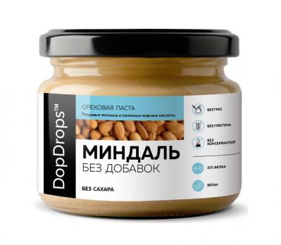 Паста миндальная DopDrops без добавок 250 г
