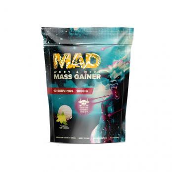 Гейнер MAD MASS GAINER WHEY & BEEF 1000 гр