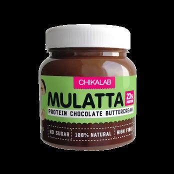 Шоколадная паста Mulatta CHIKALAB 250 г фундук