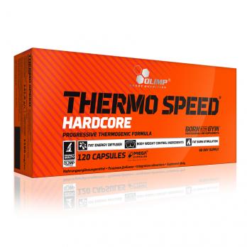 Жиросжигатель OLIMP Thermo Speed Hardcore Mega Caps 120 капс