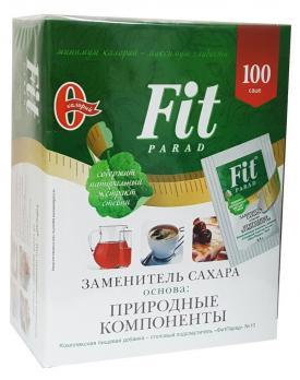 Заменитель сахара Fit Parad №10  100 саше